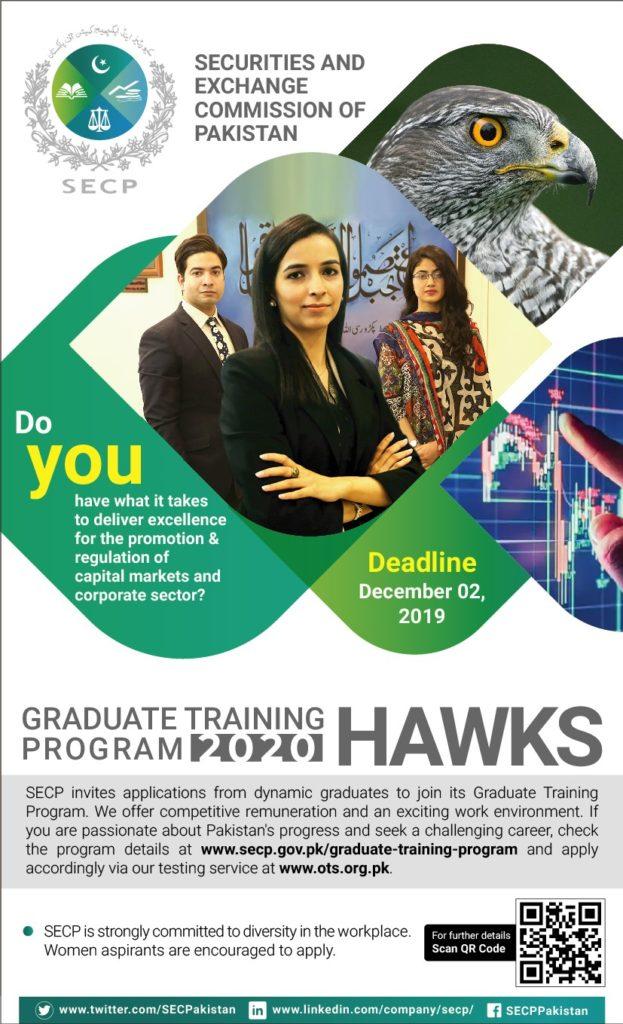 SECP Jobs Graduate Training Program HAWKS Test Result